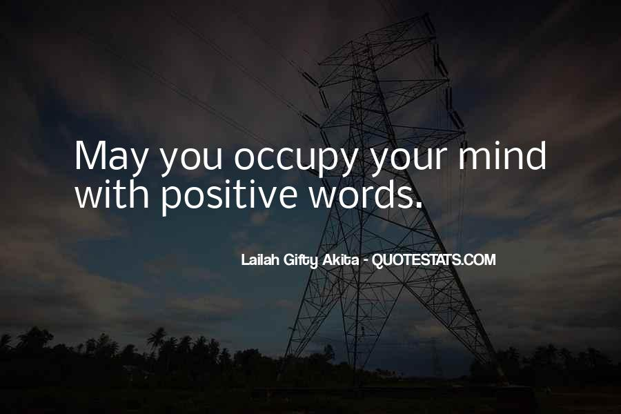 Our Words Have Power Quotes #52324