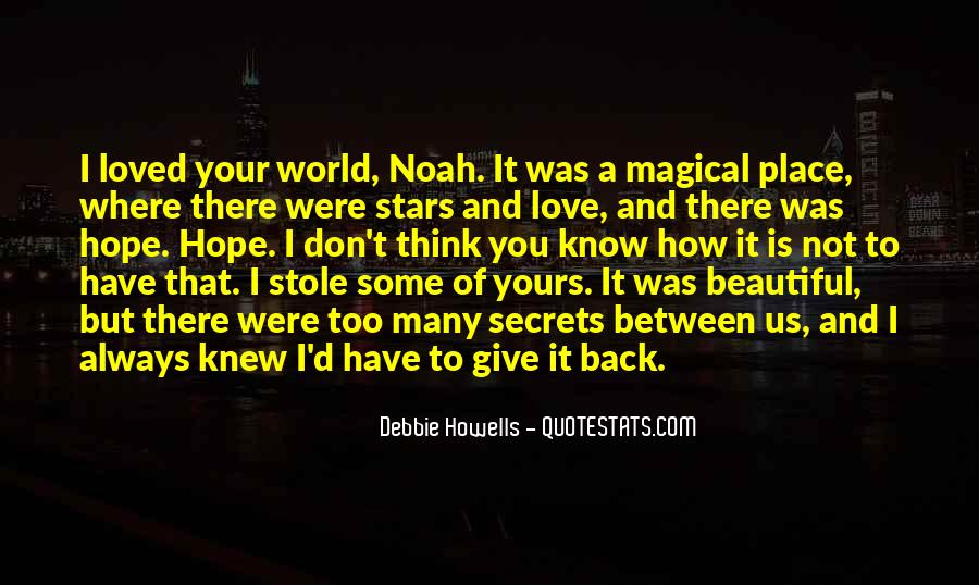 Our World Is A Beautiful Place Quotes #620697