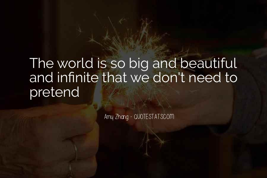 Our World Is A Beautiful Place Quotes #713018