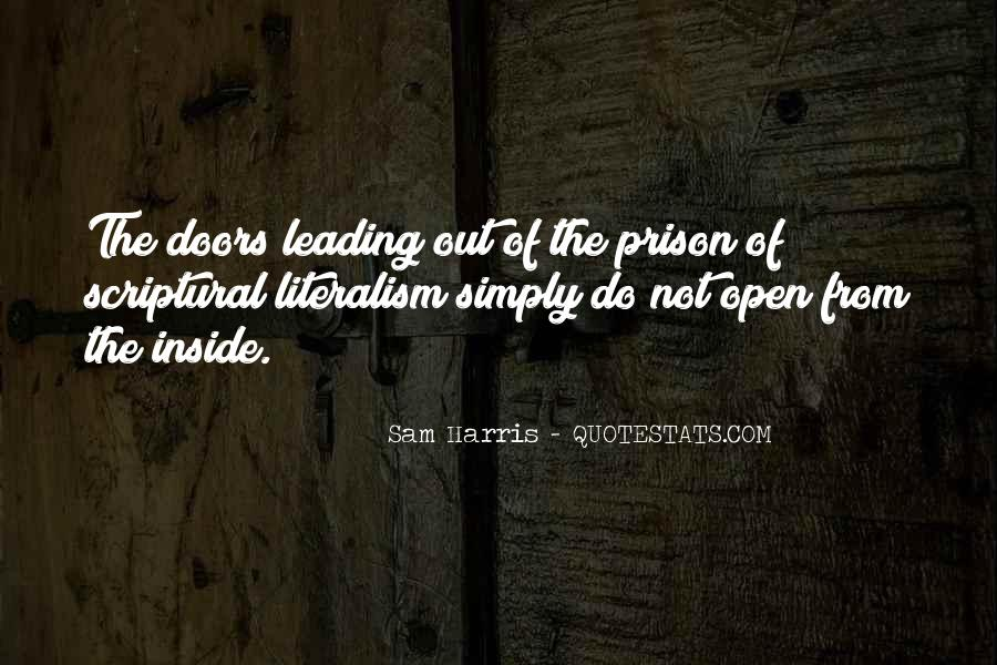 Out Of Prison Quotes #251175
