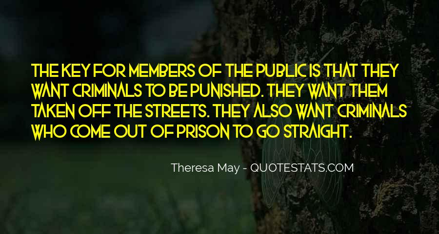 Out Of Prison Quotes #663460