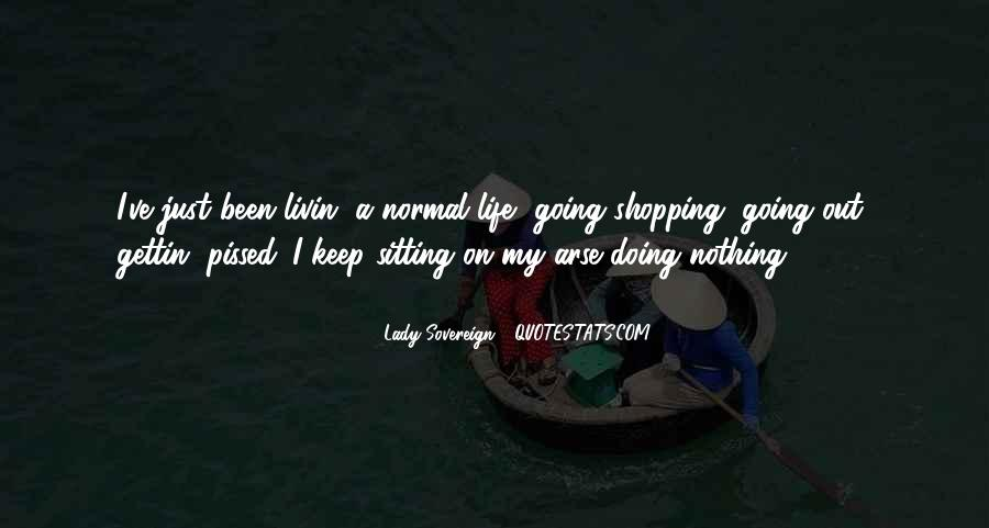 Out Shopping Quotes #1481634