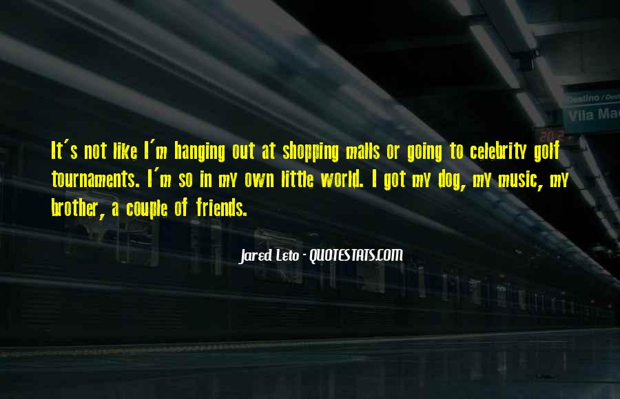 Out Shopping Quotes #306253