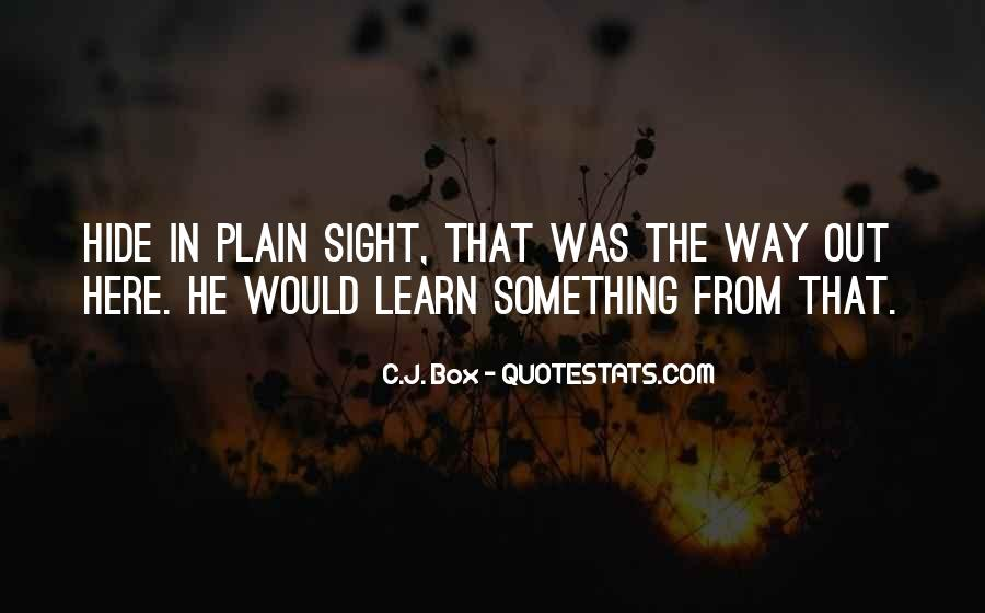 Out The Box Quotes #328008
