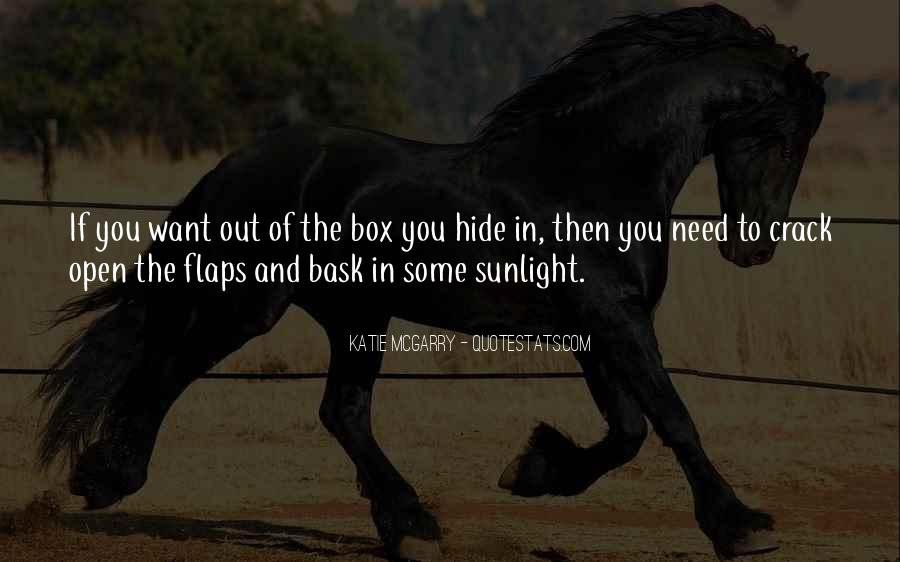 Out The Box Quotes #490860
