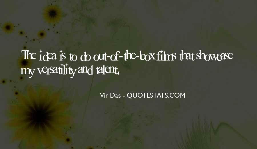 Out The Box Quotes #81986