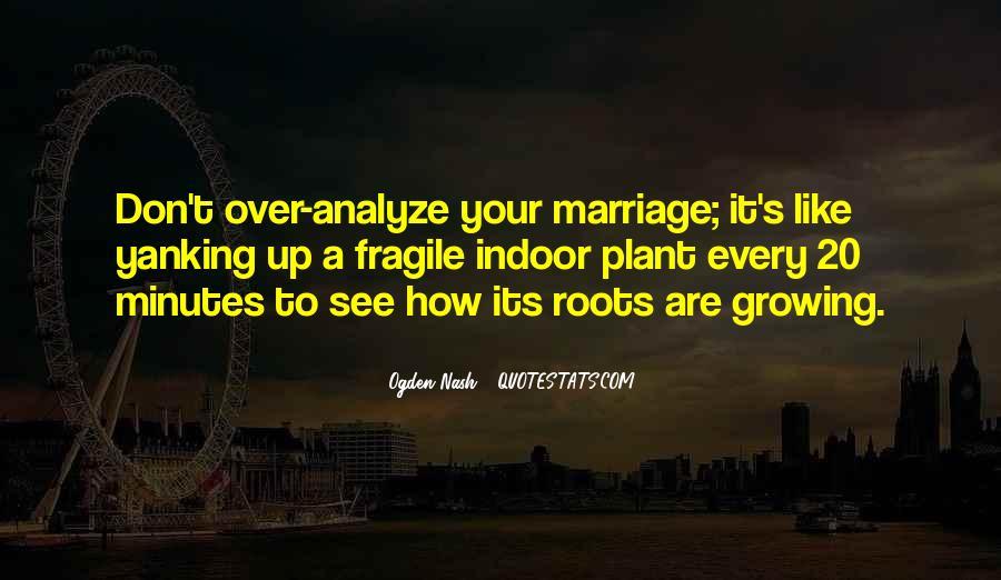 Over Analyze Quotes #1578729
