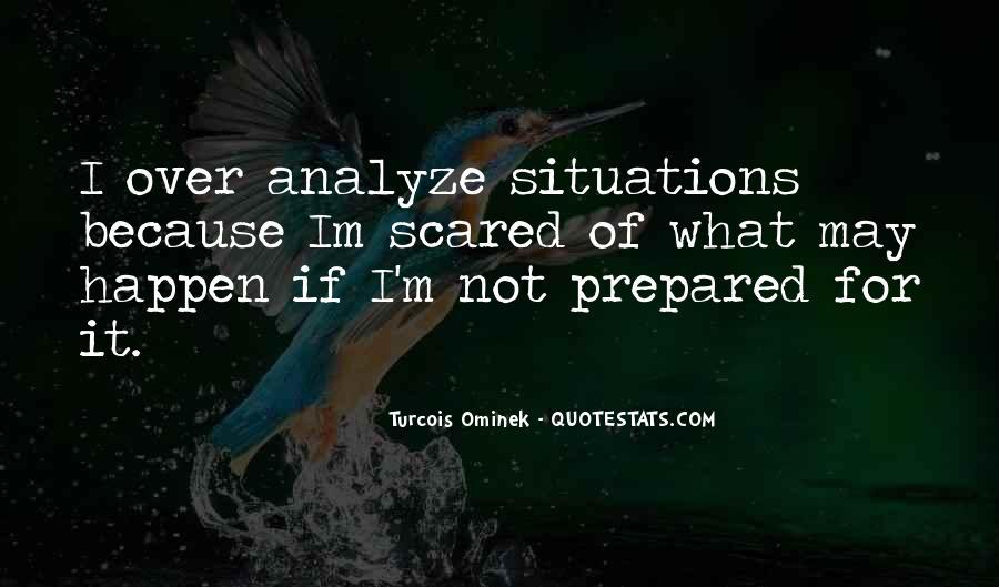 Over Analyze Quotes #205458