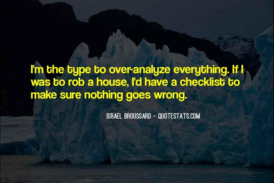 Over Analyze Quotes #213393
