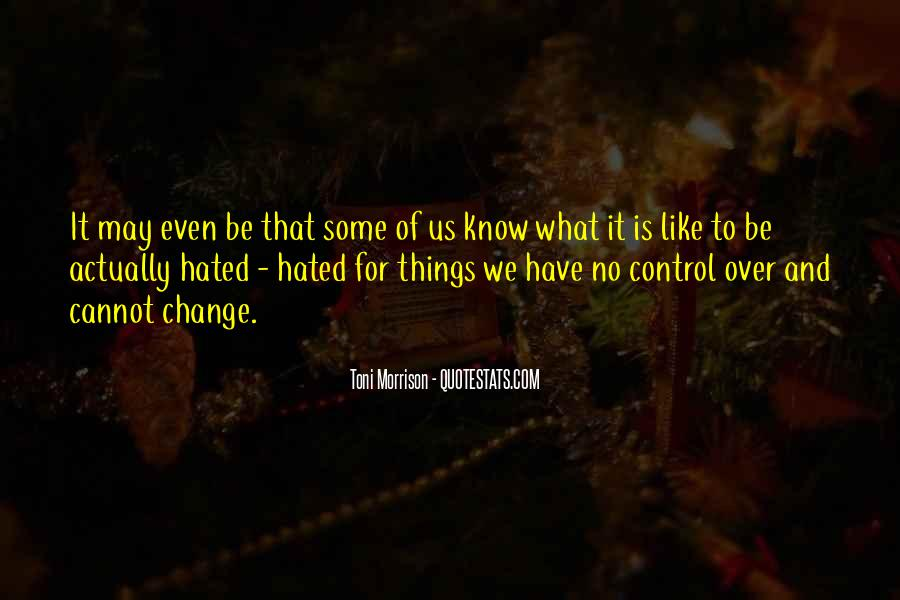 Over Control Quotes #104347