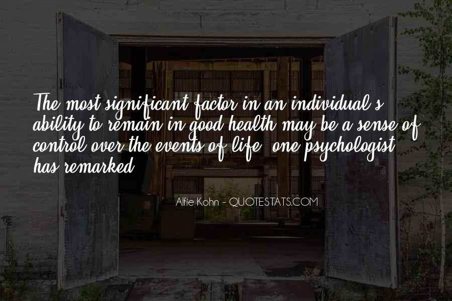 Over Control Quotes #110898