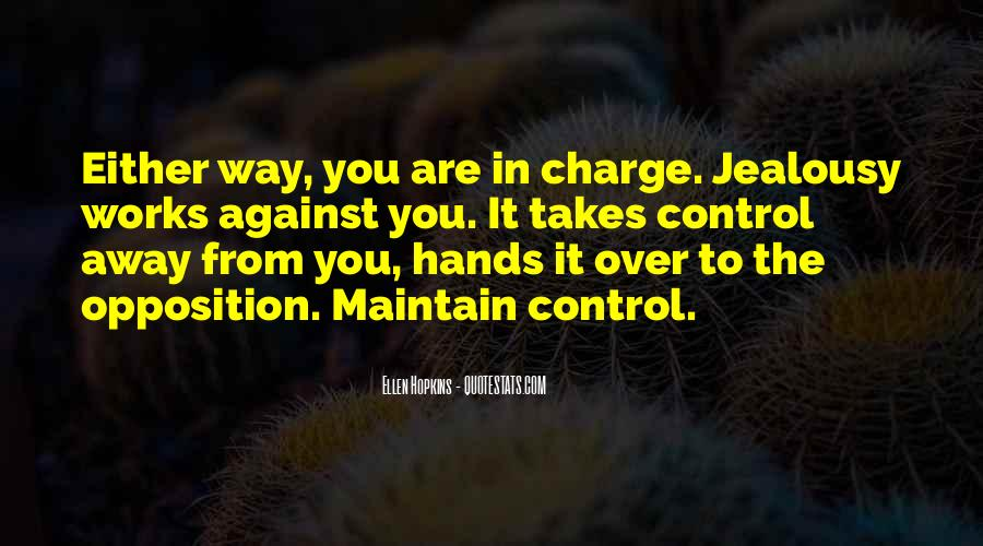 Over Control Quotes #122785