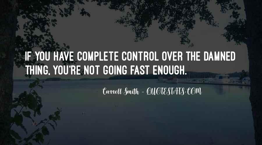 Over Control Quotes #131796