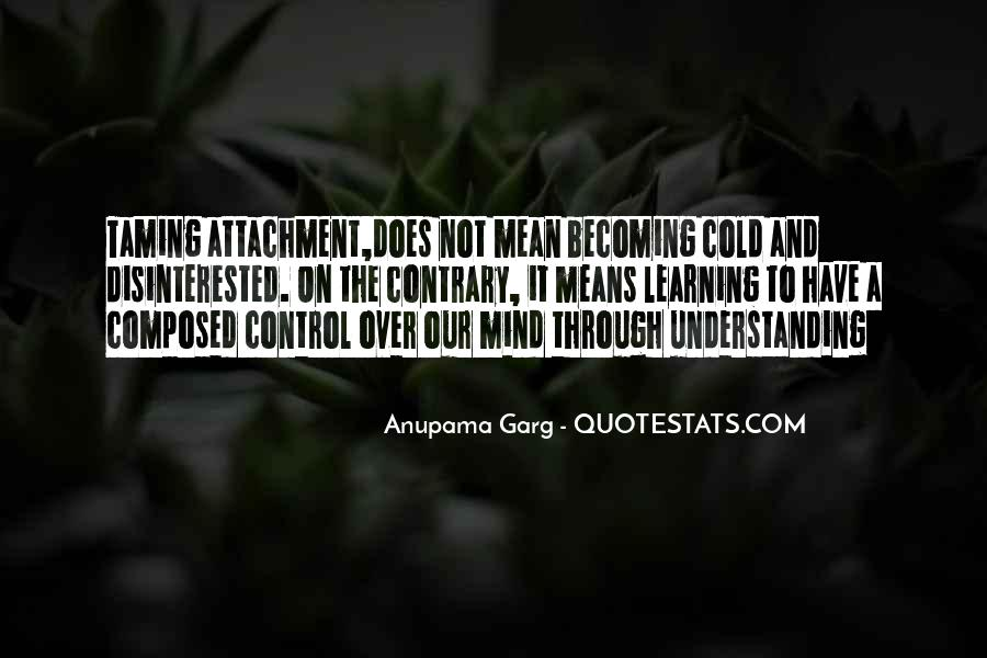Over Control Quotes #38652