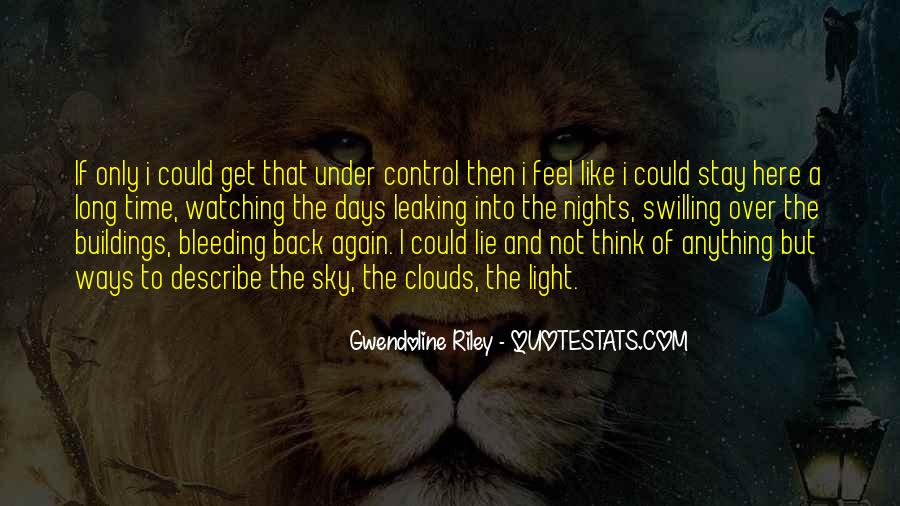 Over Control Quotes #50741