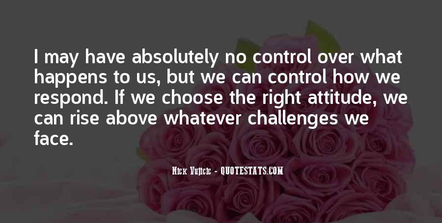 Over Control Quotes #67494