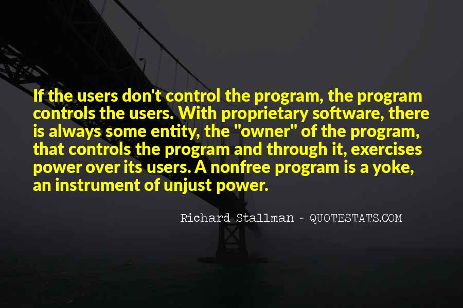 Over Control Quotes #77333