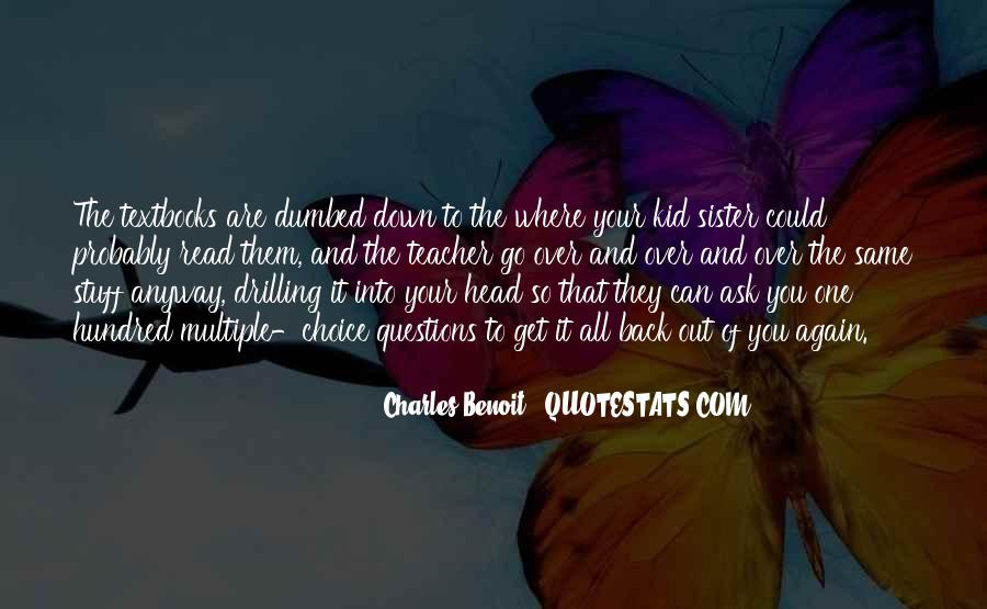 Over It All Quotes #44055