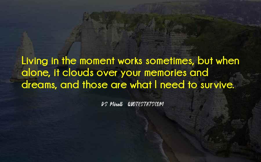 Over The Clouds Quotes #1021180