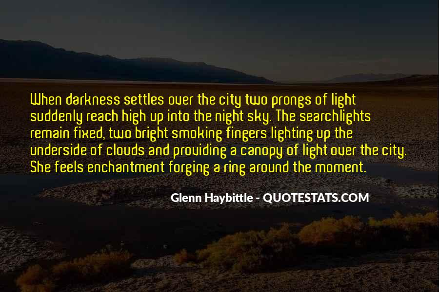 Over The Clouds Quotes #1170980