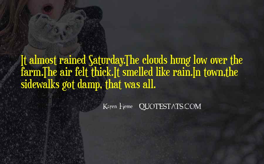 Over The Clouds Quotes #1236646