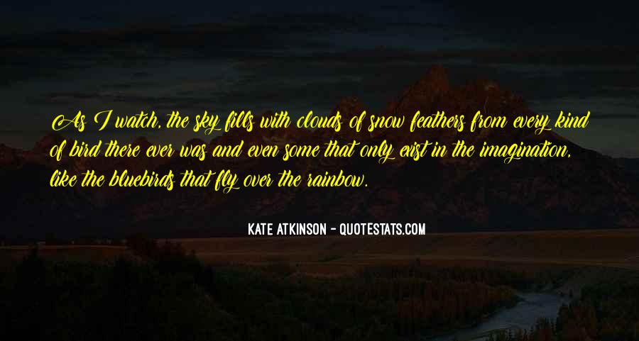Over The Clouds Quotes #1363538