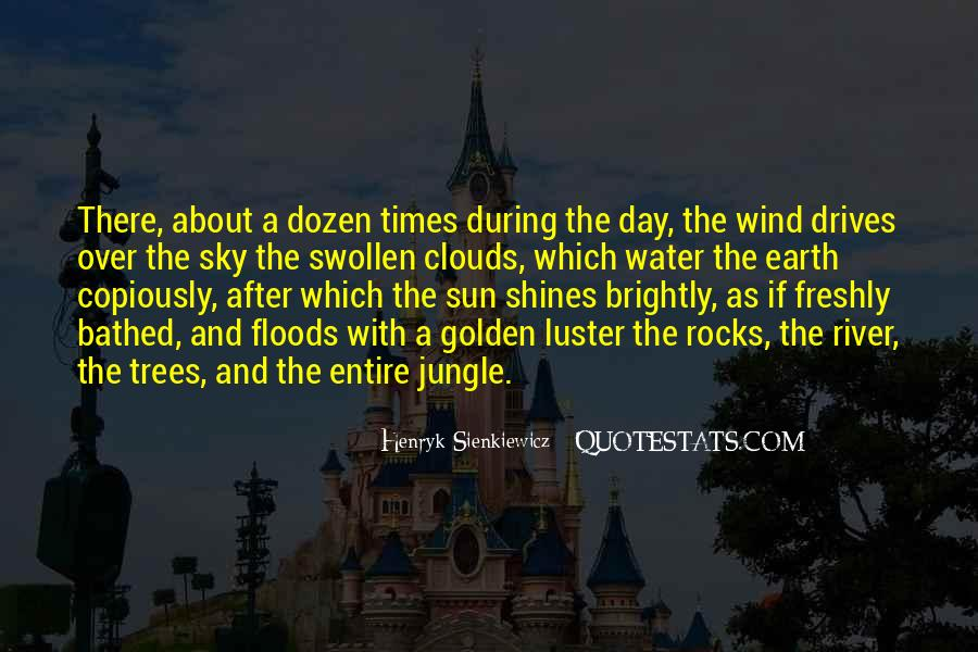 Over The Clouds Quotes #1526410