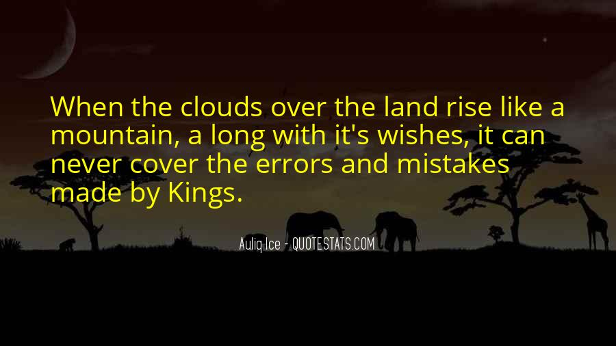 Over The Clouds Quotes #1743094