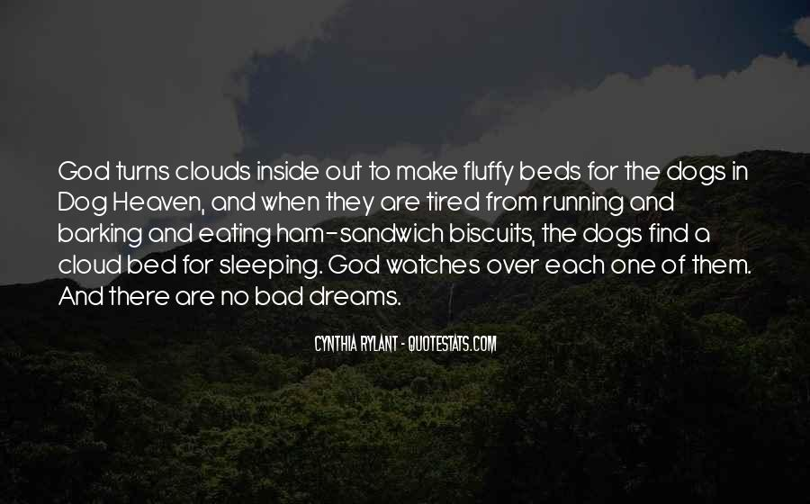 Over The Clouds Quotes #18935