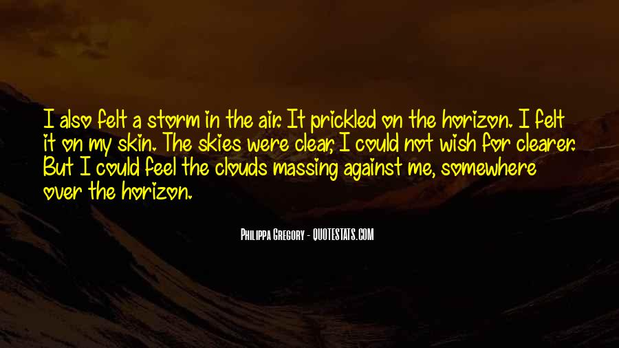 Over The Clouds Quotes #94284