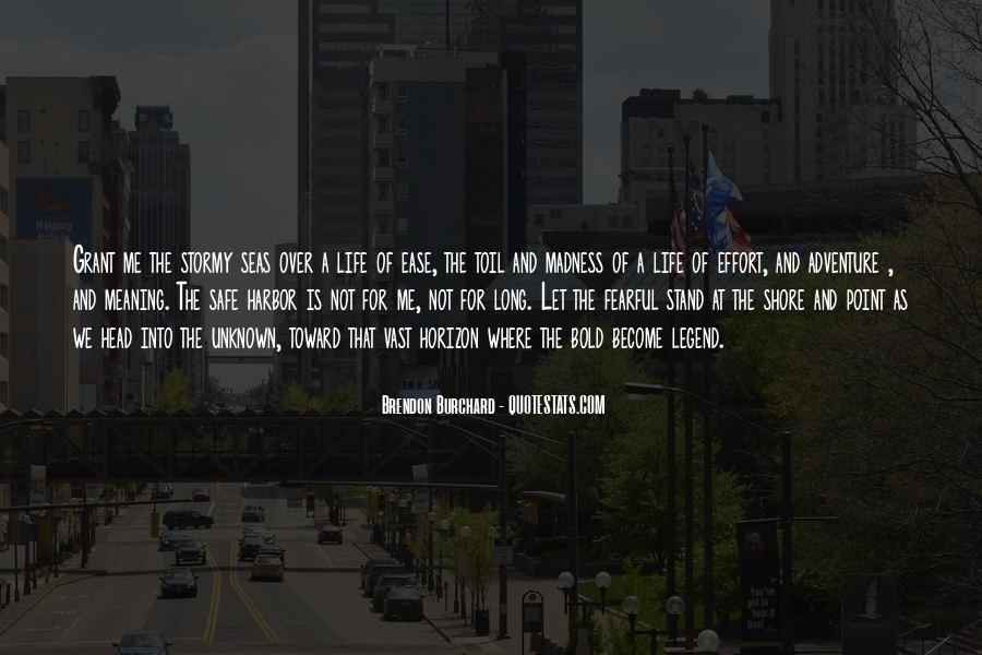 Over The Horizon Quotes #1009176