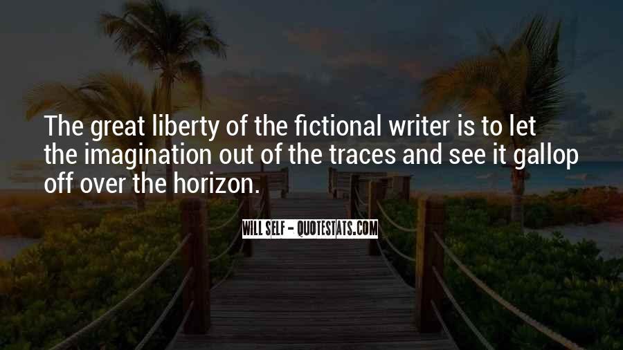 Over The Horizon Quotes #12558