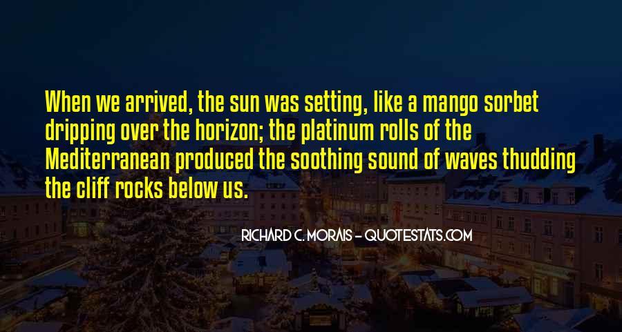 Over The Horizon Quotes #1338317