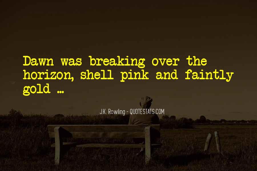 Over The Horizon Quotes #138247