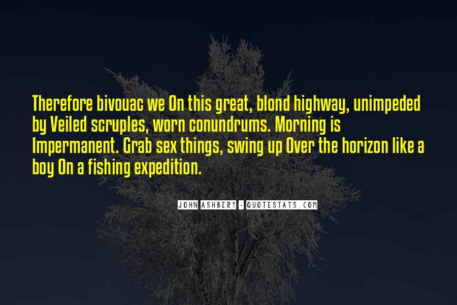 Over The Horizon Quotes #1405211