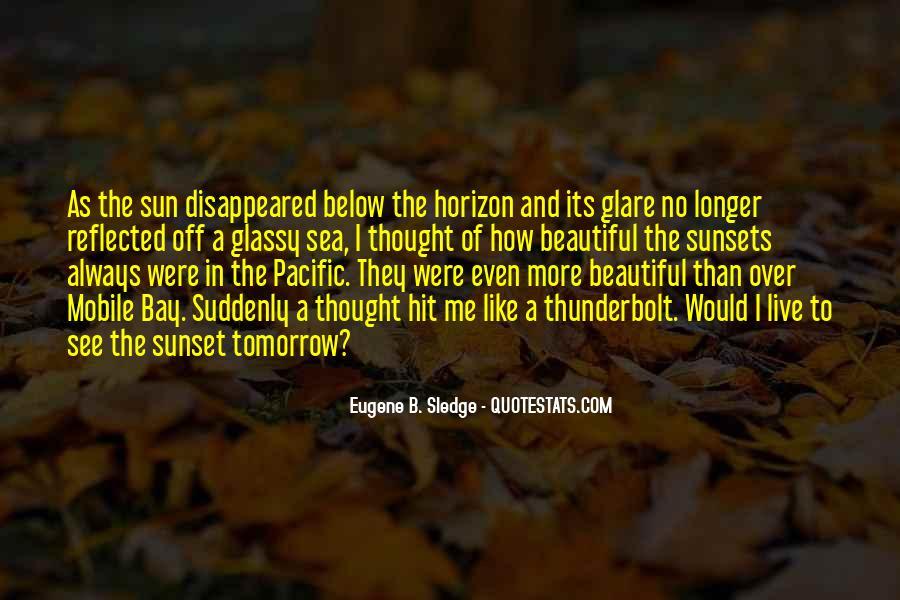Over The Horizon Quotes #1605119