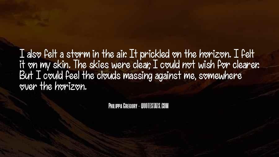 Over The Horizon Quotes #94284