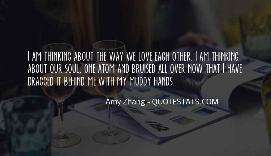 Over Thinking Love Quotes #1132827