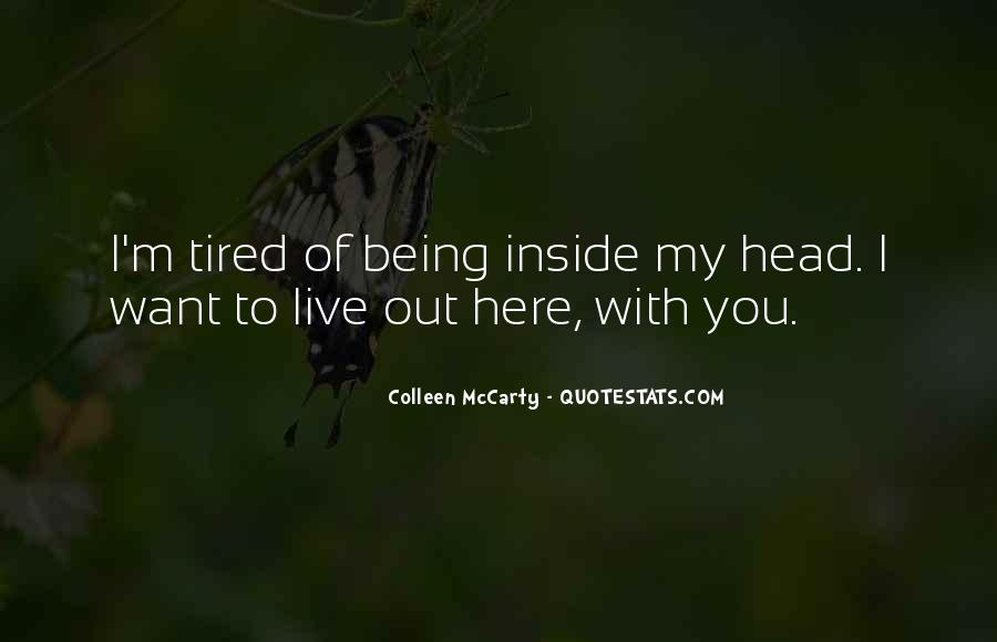 Over Thinking Love Quotes #1291377