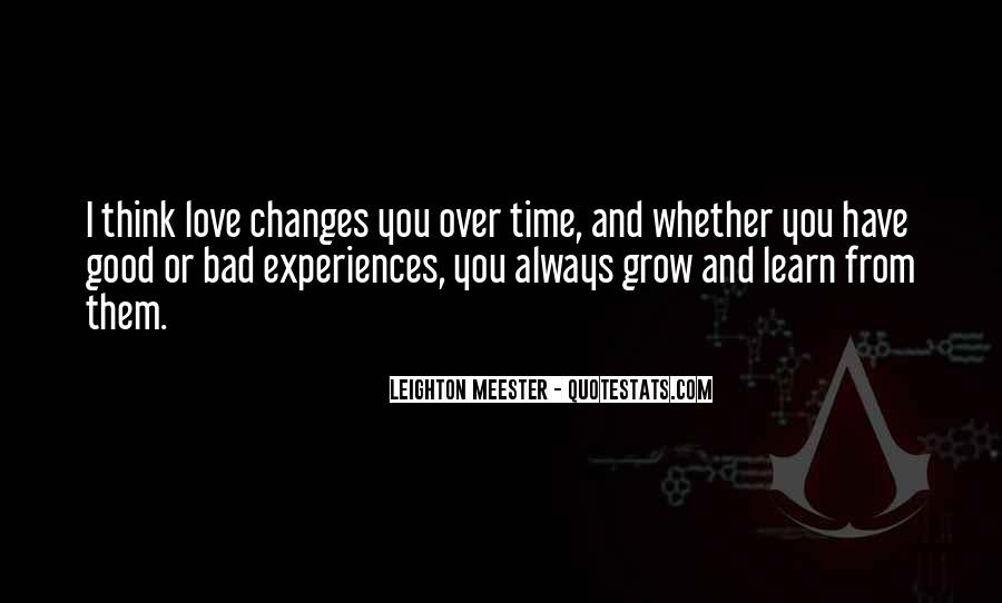 Over Thinking Love Quotes #1727159