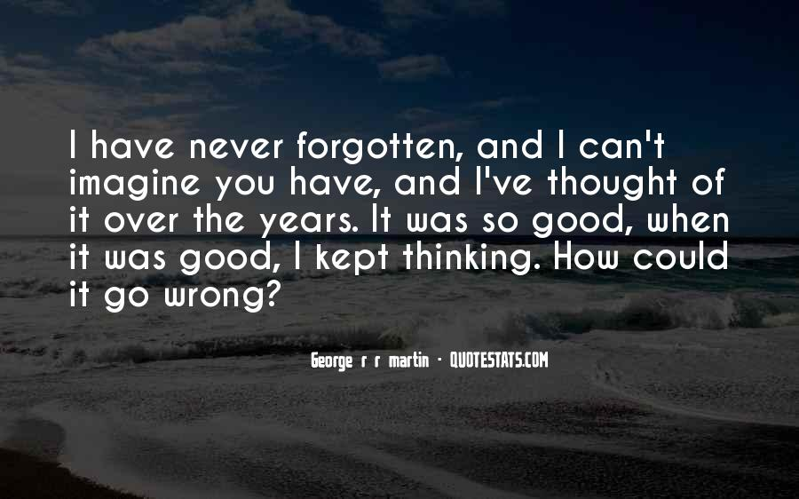 Over Thinking Love Quotes #1847175