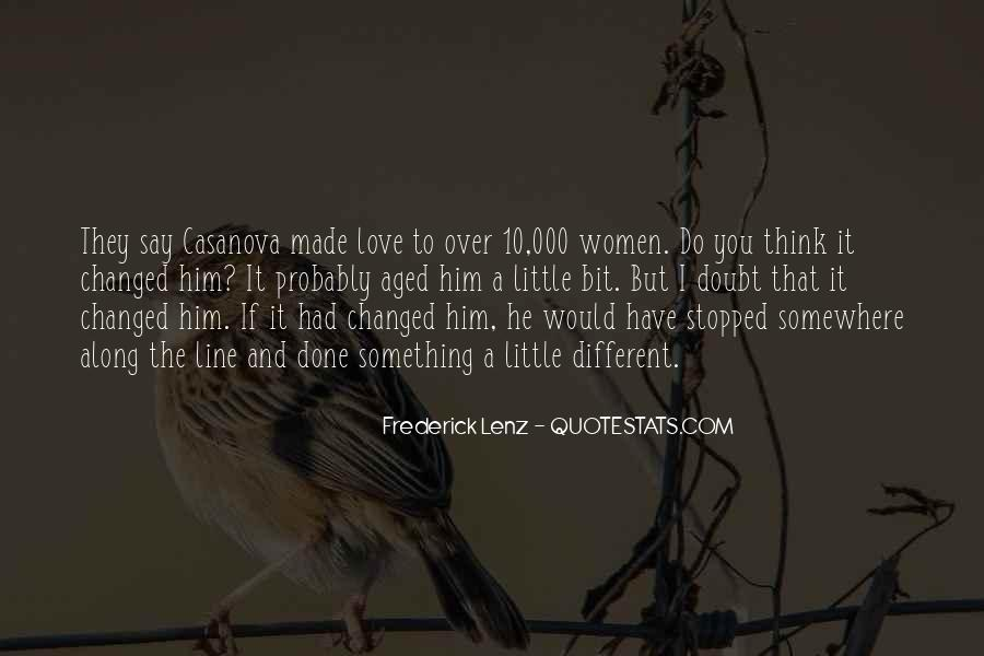 Over Thinking Love Quotes #975631