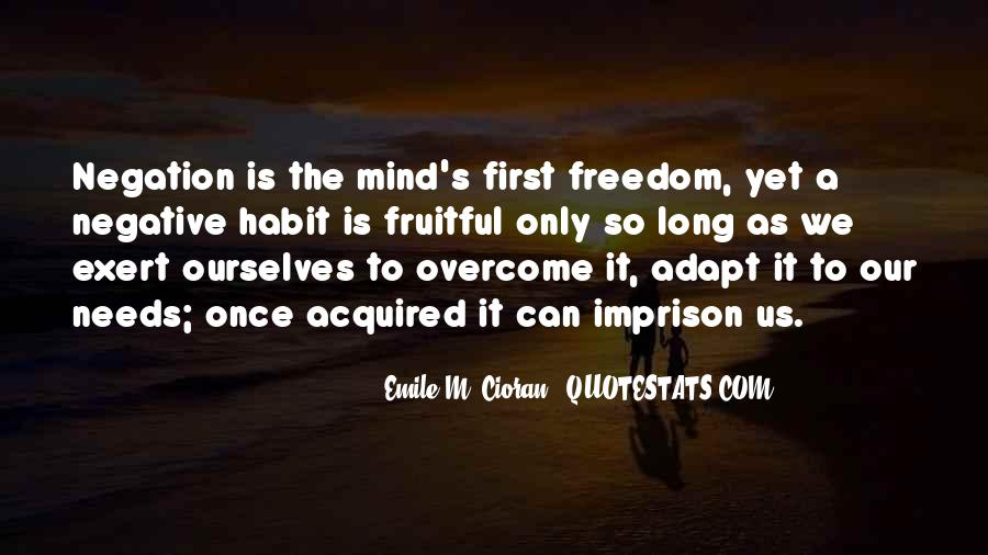 Overcome And Adapt Quotes #12237