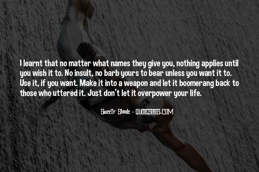 Overpower Quotes #13045