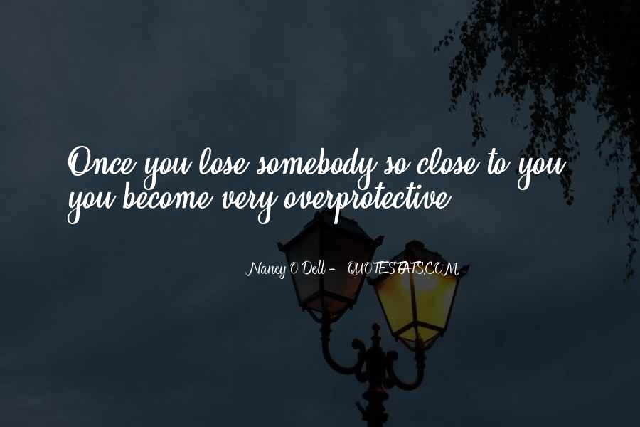 Overprotective Quotes #1261065