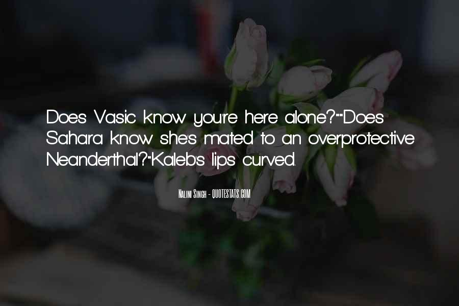 Overprotective Quotes #1439927