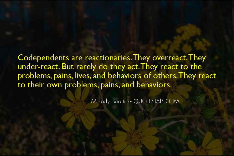 Overreact Quotes #1656425