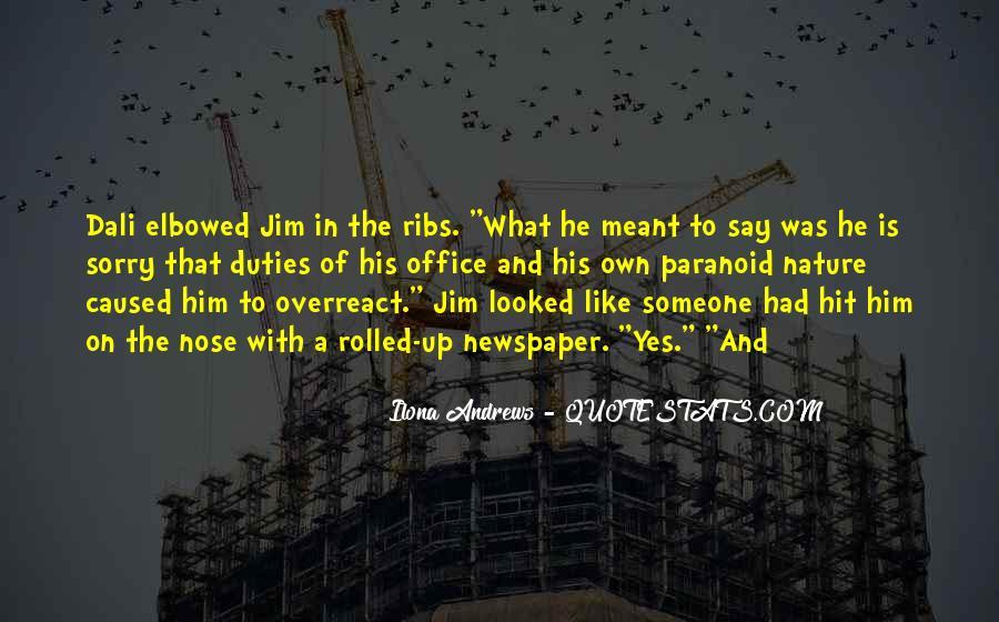 Overreact Quotes #430727
