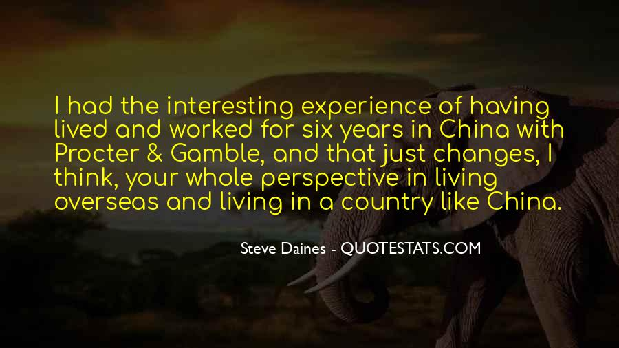 top overseas experience quotes famous quotes sayings about