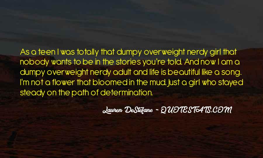 Overweight Girl Quotes #358414